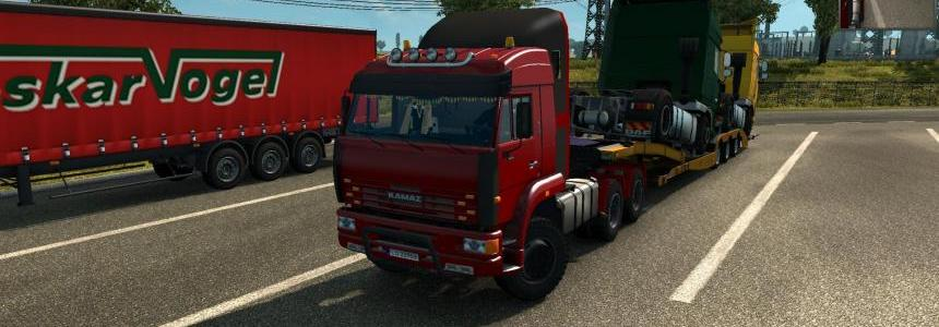 Kamaz 6460 Updated for v1.24 - v1.23