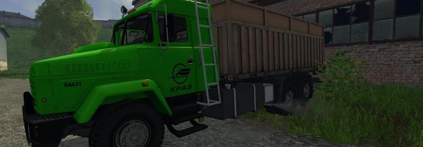 Kraz 64431 and Trailer v1.0