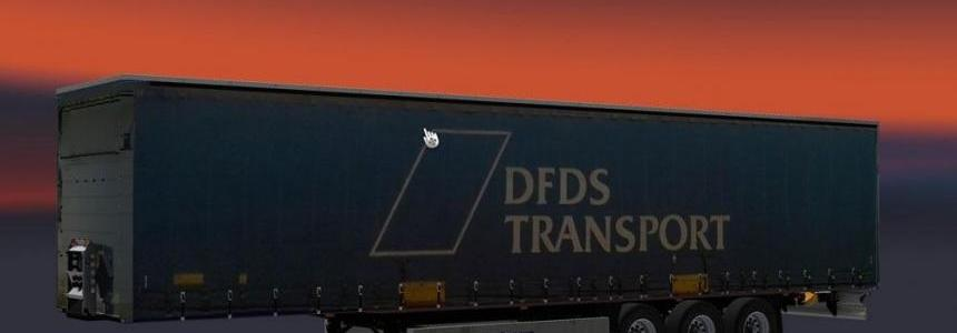 Krone Profiliner DFDS Trailer