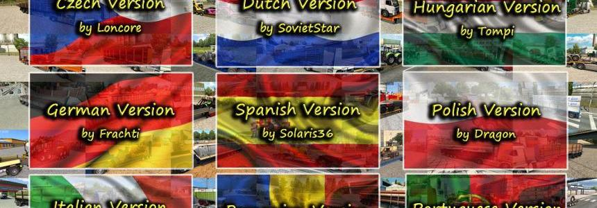 Language Pack (update1) for Trailers and Cargo Pack by Jazzycat v4.2
