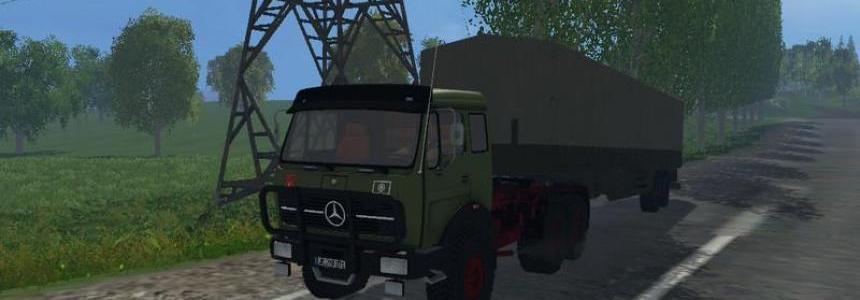 MB NG 1632 6x6 with tilt trailers v1.0