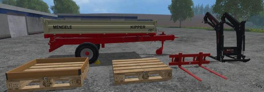 Mengele Tipper Equipment Pack v2.0