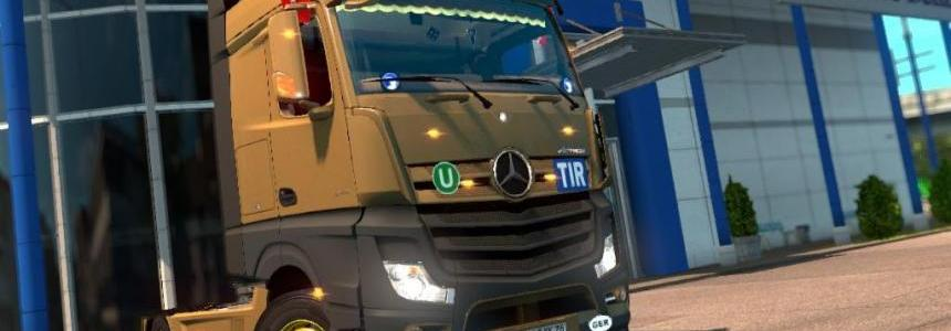 Mercedes Actros MP4 v1.14