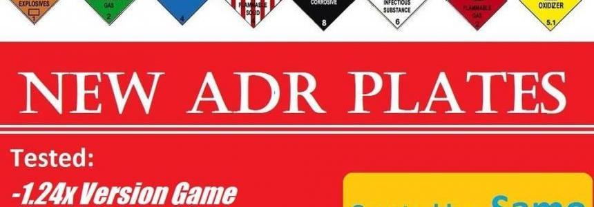 New ADR Plates v1.2