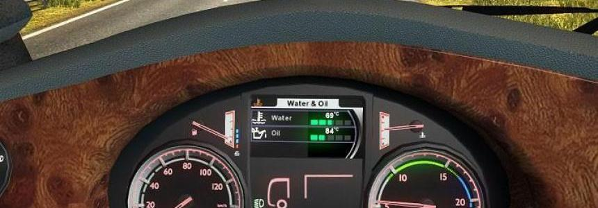 New DAF XF 105 Board Computer with Own Sounds