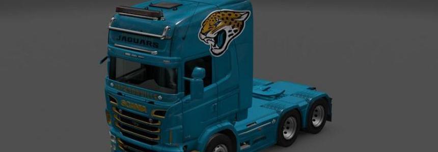 NFL Skin Pack Scania RJL Topline v1.0