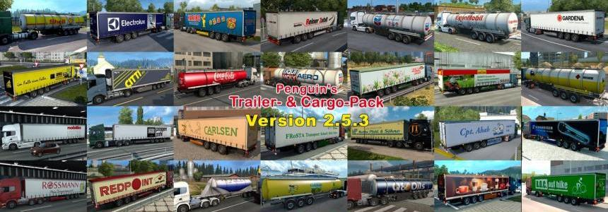 Penguins Trailer and CargoPack v2.5.3 for 1.23 & 1.24