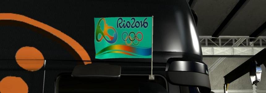RIO 2016 FLAGS