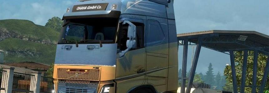 S.n.de witte skin for ohaha volvo fh 2012