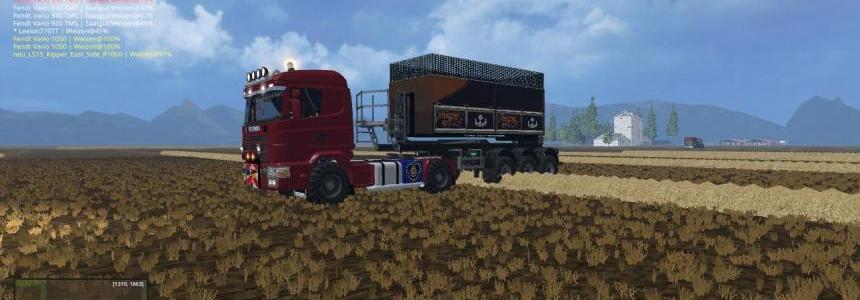 Scania 144L Agrar V1