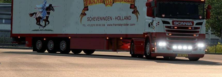 Scania Frank De Ridder + Trailer
