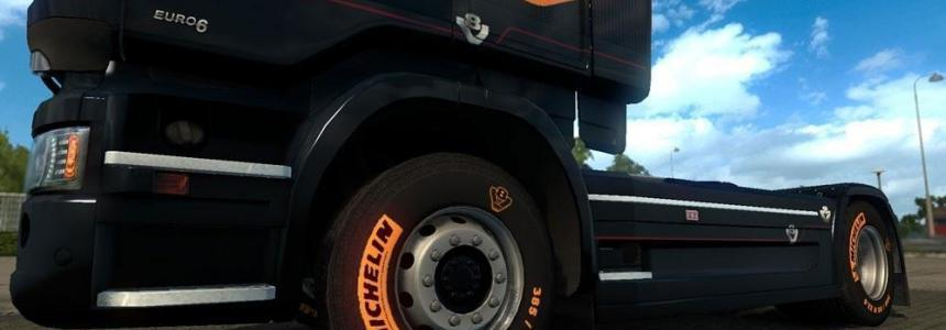 Scania Michelin V8 Tires
