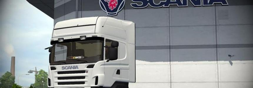 Scania R420 with plastic parts