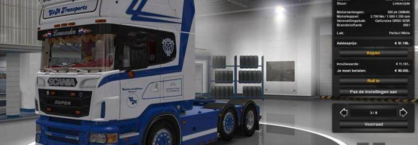 Scania R500 C&M Transport + Trailer 1.24-1.25
