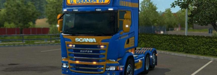 Scania RJL G Dekker BV Dutch Skin