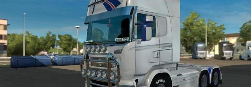 Scania RJL Scandinavia Skin