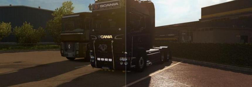 SweetFX ETS2 Improved graphics
