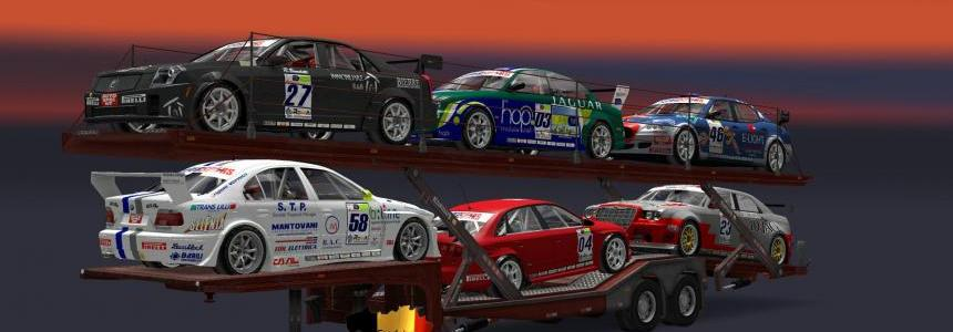 Trailer Sport Cars Transport V1.24 1.24.x