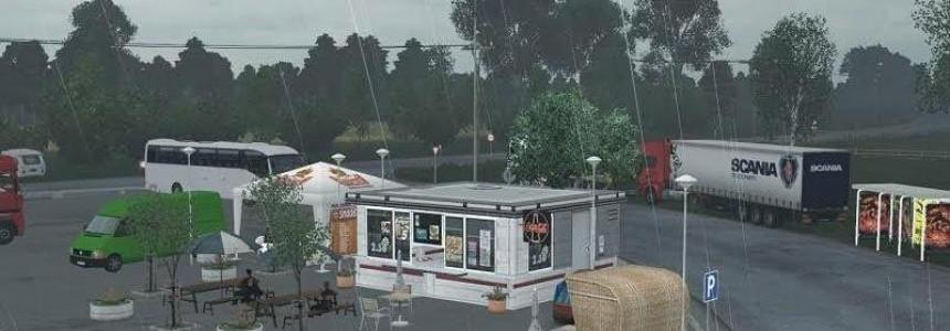 Truckstop Renate Mod for ProMods