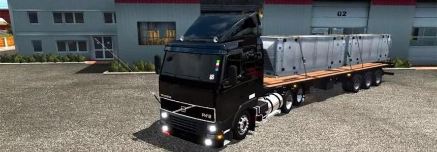 Volvo FH12 with control suspension