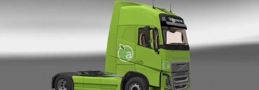 Volvo FH16 Ohaha Apple Green Skin