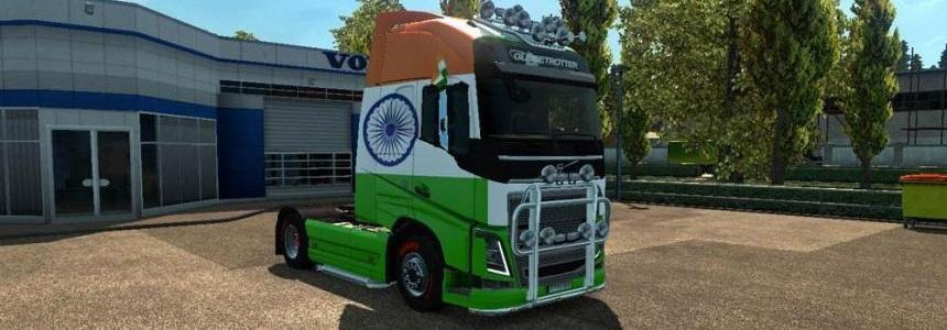 Volvo Indian Flag