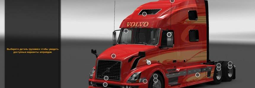 Volvo VNL 780 Reworked v2.0 Fixed
