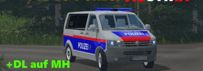 VW T5 police Austria v1.0