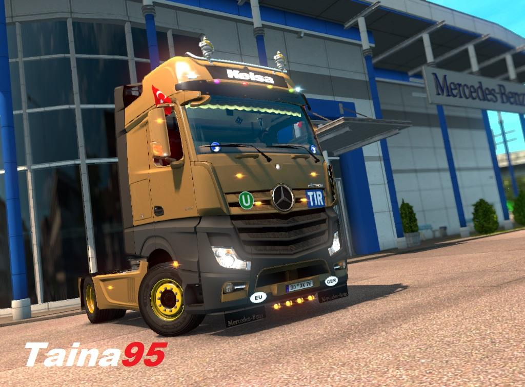Mercedes Actros MP4 v 1.14