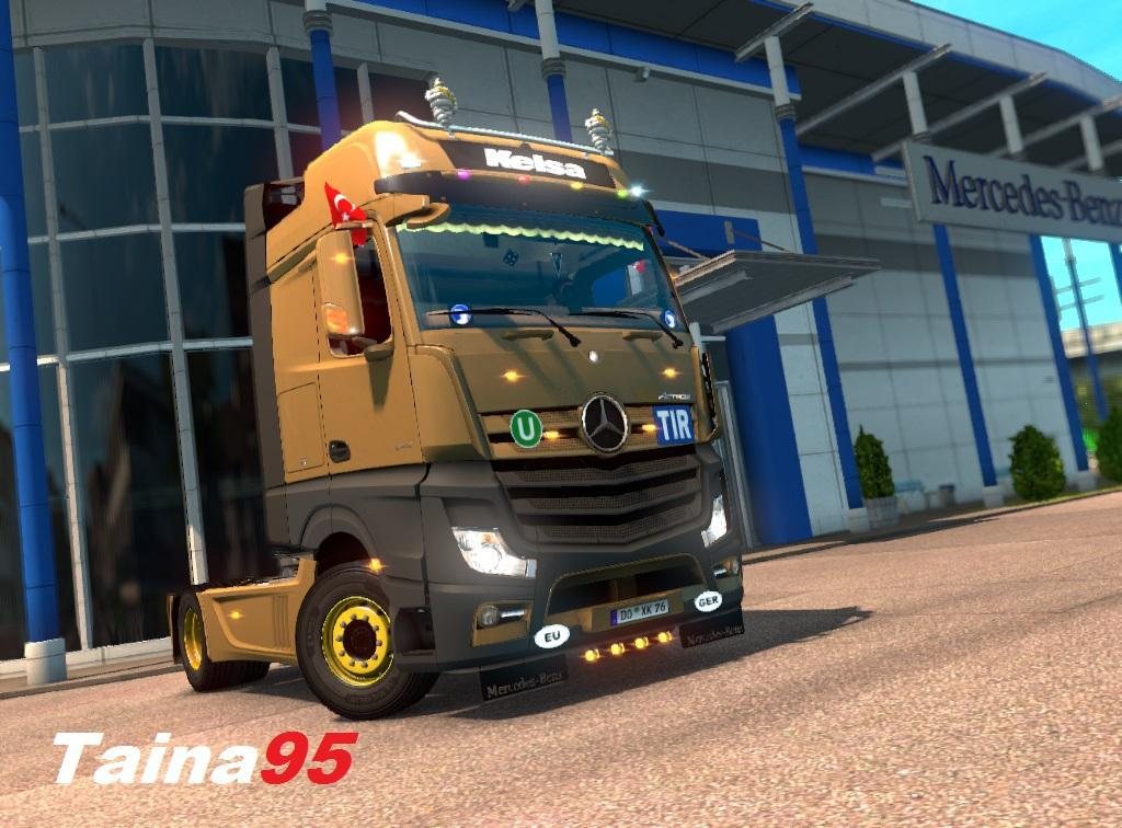 Mercedes Actros MP4 v1.15