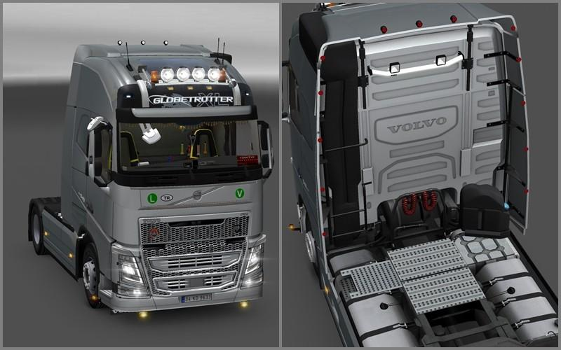 New Volvo FH16 Accessories + Interior v 2.2