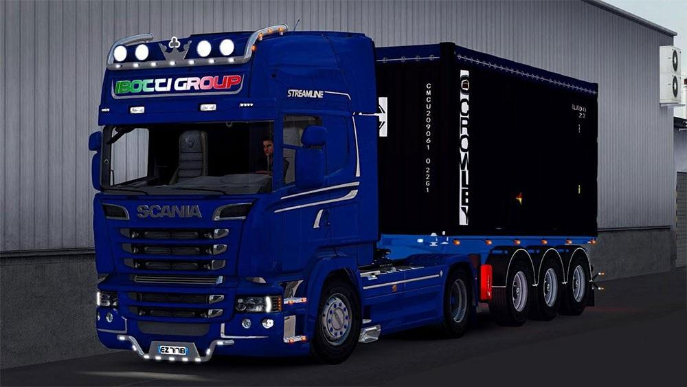 Scania R520 Streamline I'botti Group'