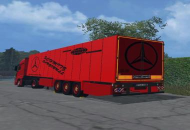Skin for SchmitzCargoBull Pack of hoffi v1.0