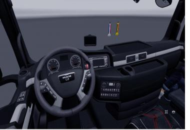 MAN TGX Madster v2.2 Black Interior 1.24