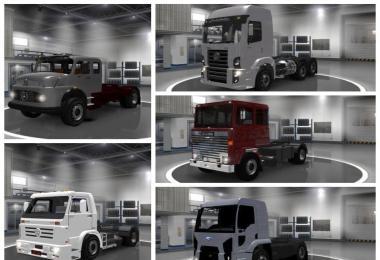 Pack of old trucks