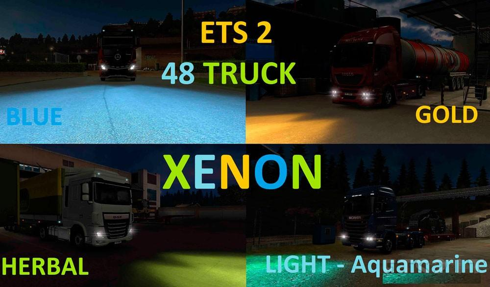 48 Truck Xenon Color Pack