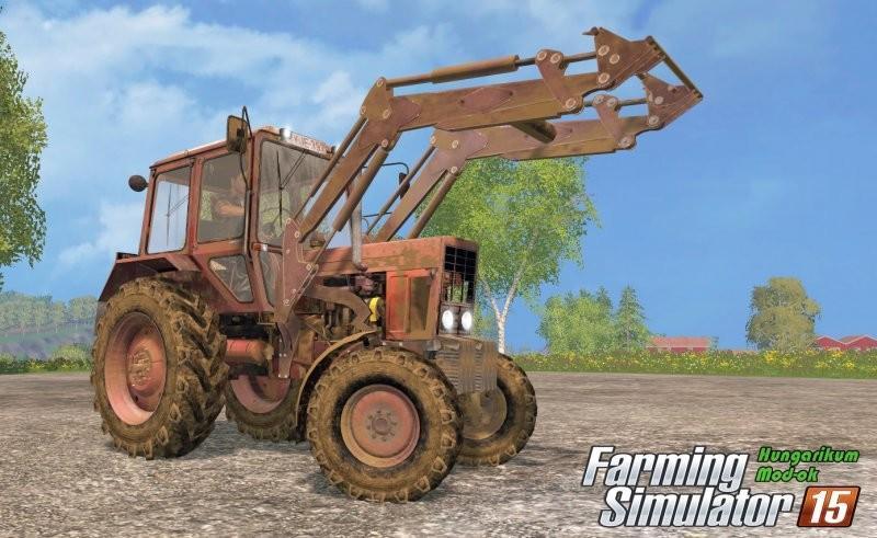 Farming Simulator 2015 скачать мод Трактор МТЗ 82.