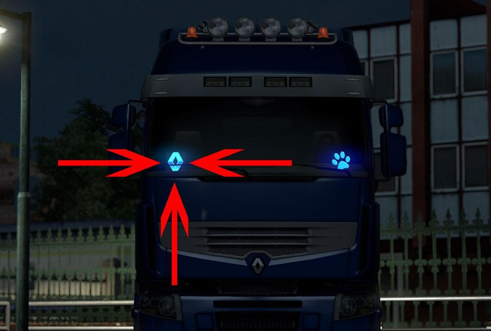 GT-Mods Truck Brand Ledplates