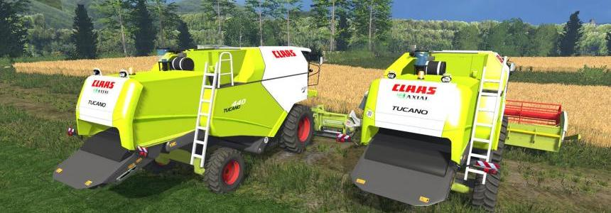 Claas Tucano 440 v1.0