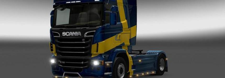 GT-Mods SCS Scania Reworked and Fixed v2.0