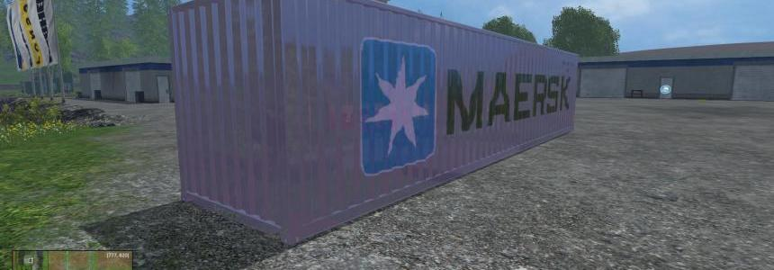 40ft container v1.0 Beta