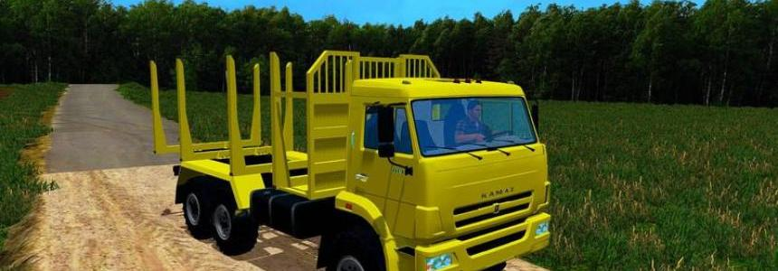 Kamaz 44118 Forest Edition FS15 v1.0