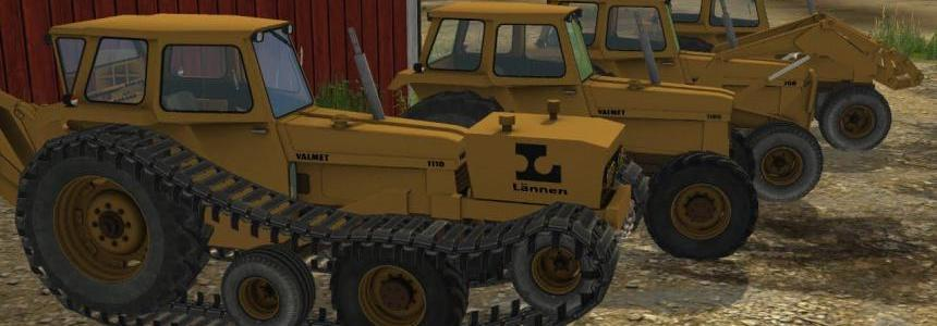 Pack Valmet tractores + accesorios v1.0