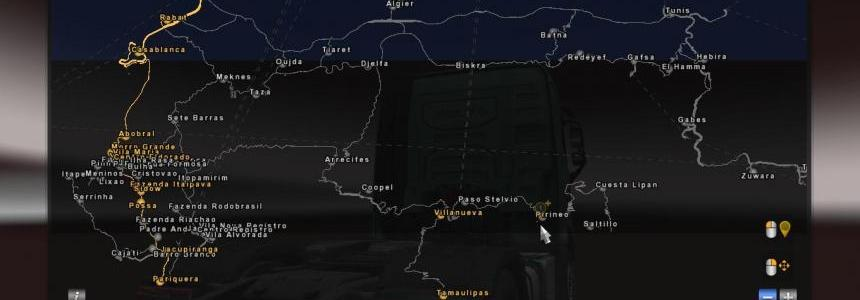 Africa Map for promods v2.11 Fixed