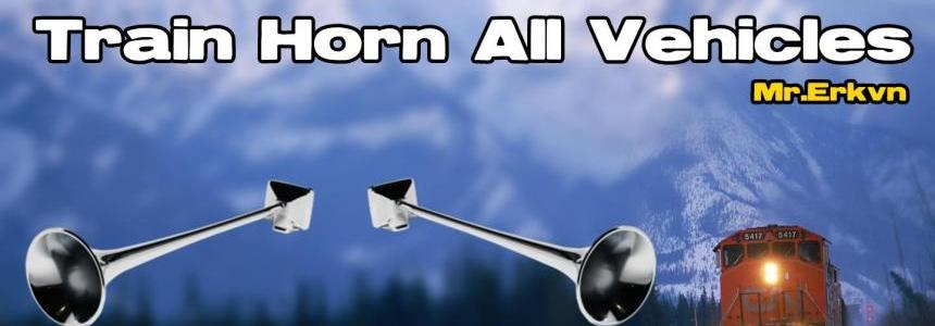All Vehicles For Train Horn 1.25.x
