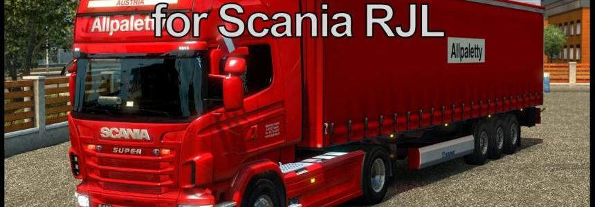 Allpaletty Skin for Scania RJL v1