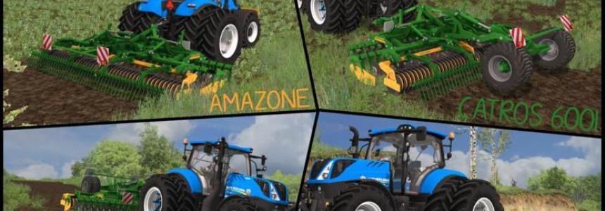 Amazone Catros 6001 Pack v1.1