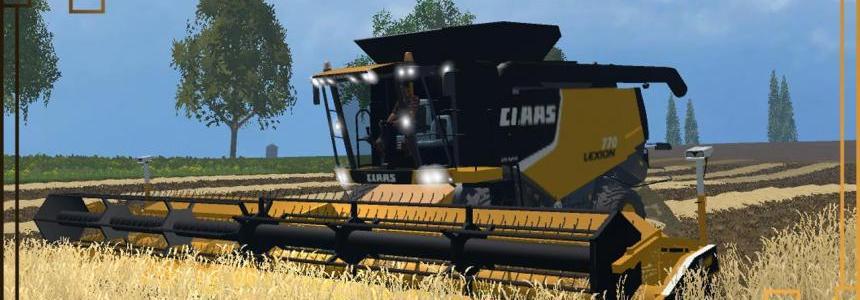 Claas Lexion 770 / 770 Terra Trac FS15 v1.0