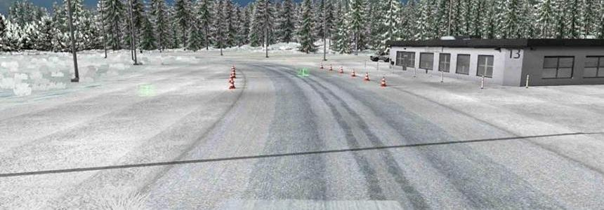 Dalton and Elliot Hwy Extreme Winter Map v1.0