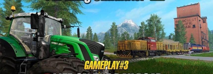 Farming Simulator 17 Life on the Railroad
